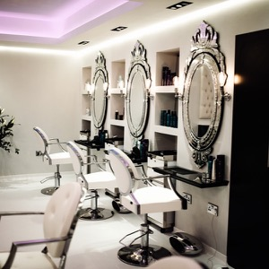 The Hoar Cross Hall salon